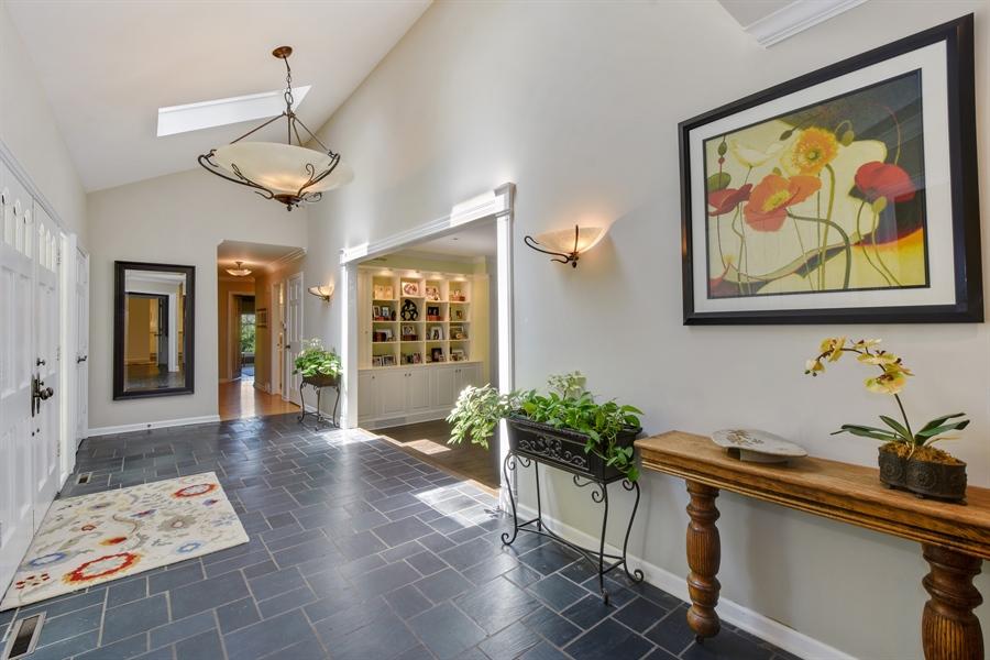 Real Estate Photography - 630 Elm Road, Barrington, IL, 60010 - Foyer