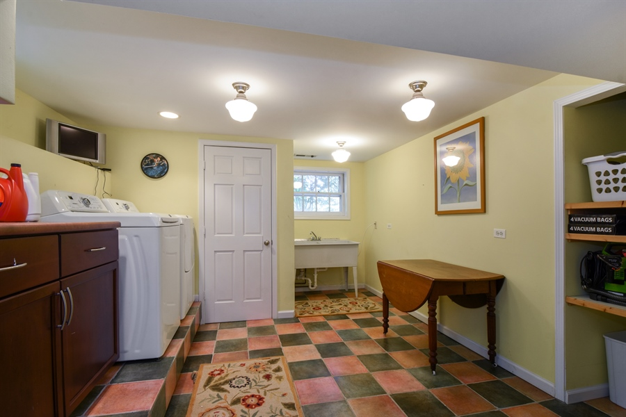 Real Estate Photography - 630 Elm Road, Barrington, IL, 60010 - Laundry Room
