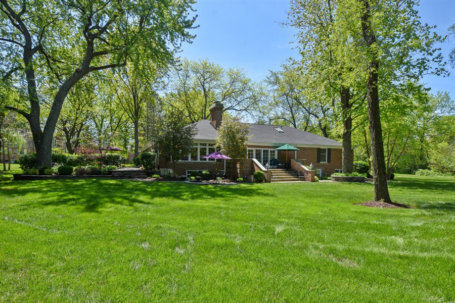 Real Estate Photography - 630 Elm Road, Barrington, IL, 60010 - Rear View
