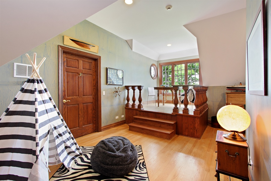 Real Estate Photography - 559 Oak Knoll Rd, Barrington Hills, IL, 60010 - Secret Captains Quarters located on the 3rd level