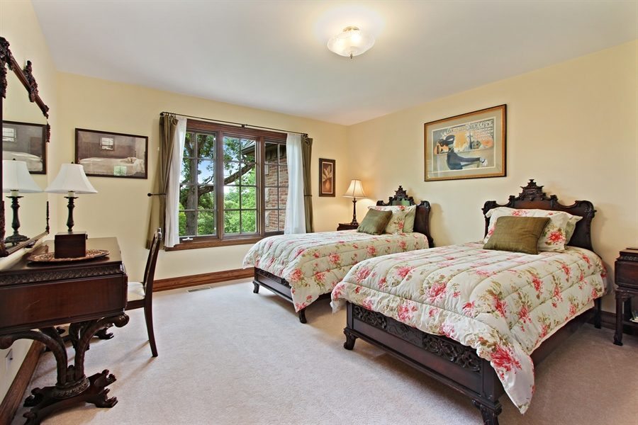 Real Estate Photography - 559 Oak Knoll Rd, Barrington Hills, IL, 60010 - 3rd Bedroom