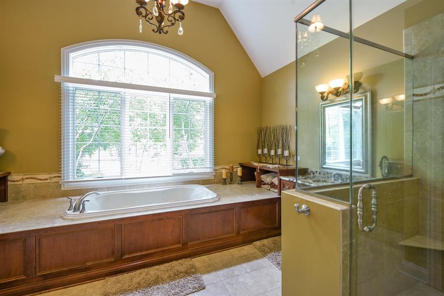 Real Estate Photography - 24215 N Coneflower Drive, Lake Barrington, IL, 60010 - Master Bathroom