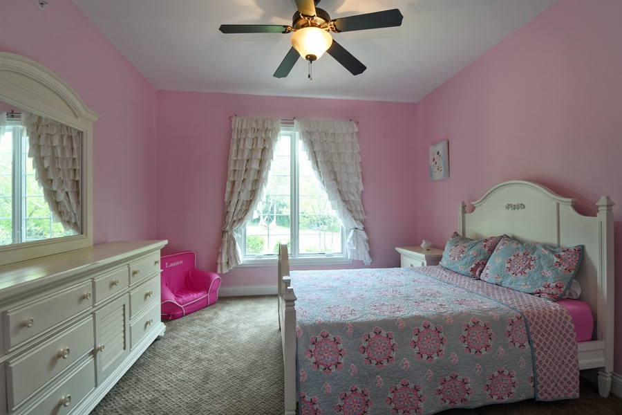 Real Estate Photography - 24215 N Coneflower Drive, Lake Barrington, IL, 60010 - 2nd Bedroom (Main Level)