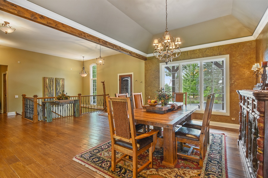 Real Estate Photography - 24215 N Coneflower Drive, Lake Barrington, IL, 60010 - Dining Room