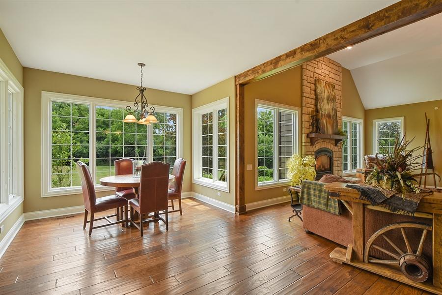 Real Estate Photography - 24215 N Coneflower Drive, Lake Barrington, IL, 60010 - Breakfast Area