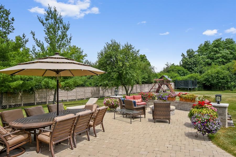 Real Estate Photography - 24215 N Coneflower Drive, Lake Barrington, IL, 60010 - Patio