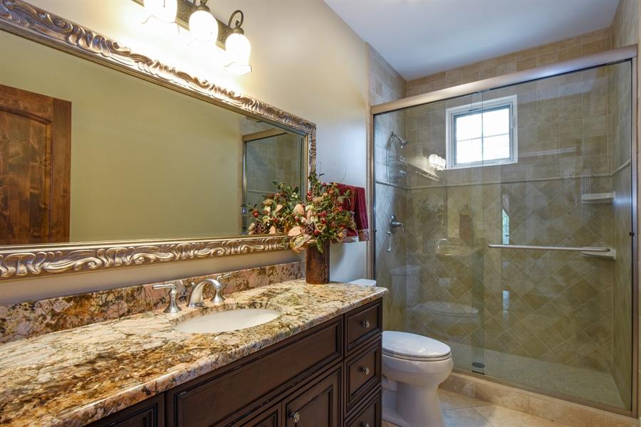 Real Estate Photography - 24215 N Coneflower Drive, Lake Barrington, IL, 60010 - Main Level Hall Full Bath