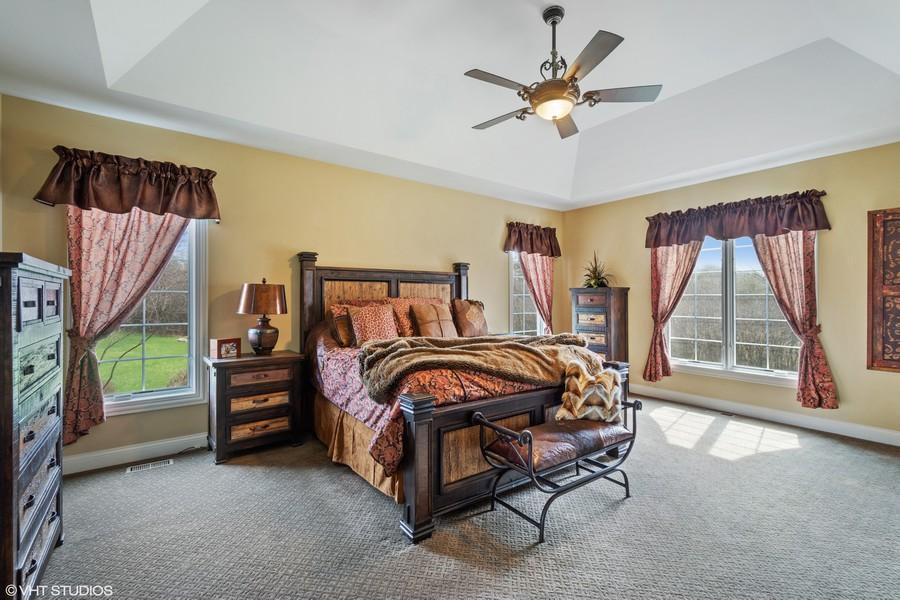 Real Estate Photography - 24215 N Coneflower Drive, Lake Barrington, IL, 60010 - Master Bedroom