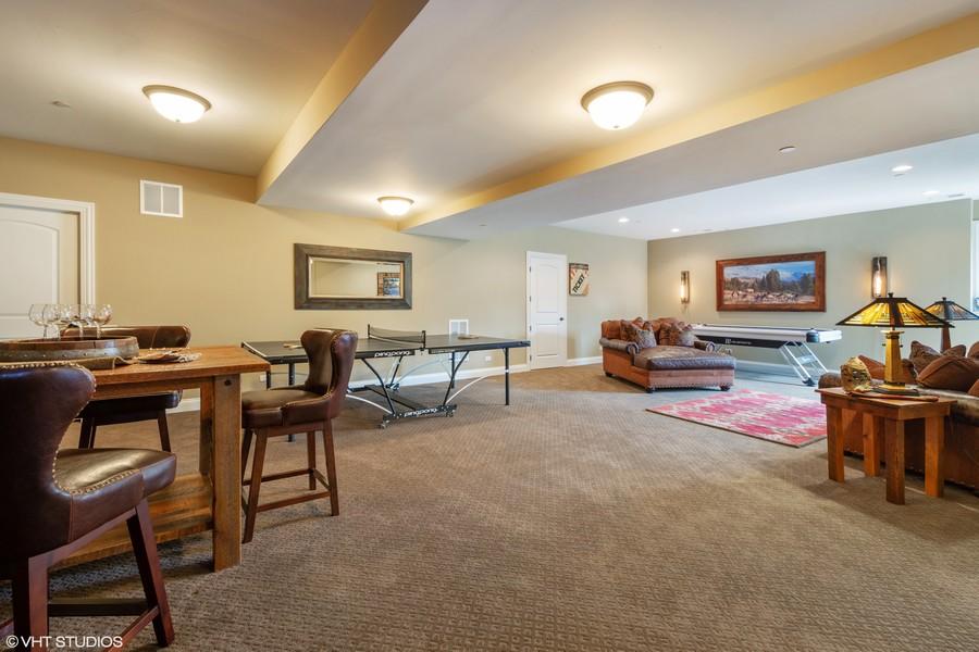 Real Estate Photography - 24215 N Coneflower Drive, Lake Barrington, IL, 60010 - Rec Room