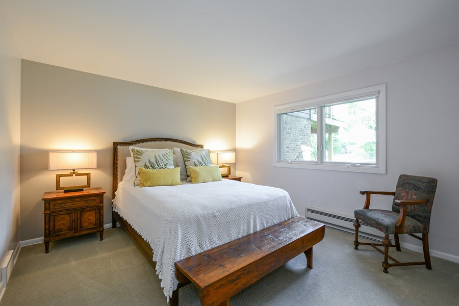 Real Estate Photography - 124 South Hills, Tower Lakes, IL, 60010 - 3rd Bedroom (Lower Level)