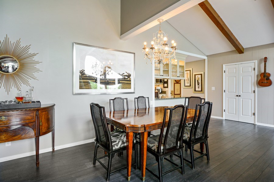Real Estate Photography - 124 South Hills, Tower Lakes, IL, 60010 - Dining/Kitchen View