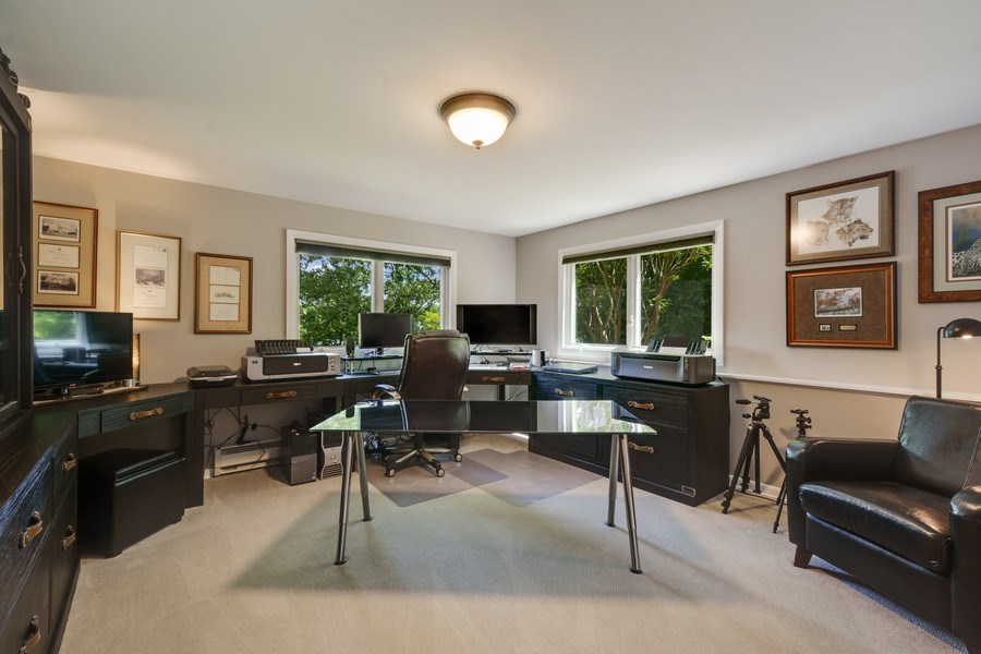 Real Estate Photography - 124 South Hills, Tower Lakes, IL, 60010 - 4th Bedroom (Lower Level)