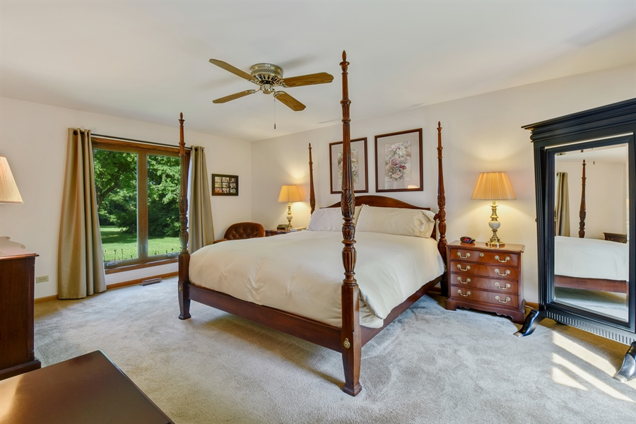 Real Estate Photography - 7 Mohawk Court, South Barrington, IL, 60010 - Master Bedroom (Main Level)