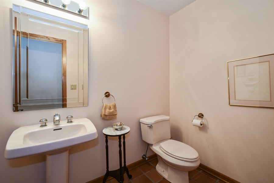 Real Estate Photography - 7 Mohawk Court, South Barrington, IL, 60010 - Powder Room