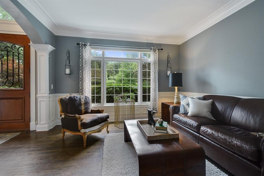 Real Estate Photography - 50 Whitetail Lane, Barrington, IL, 60010 - Living Room
