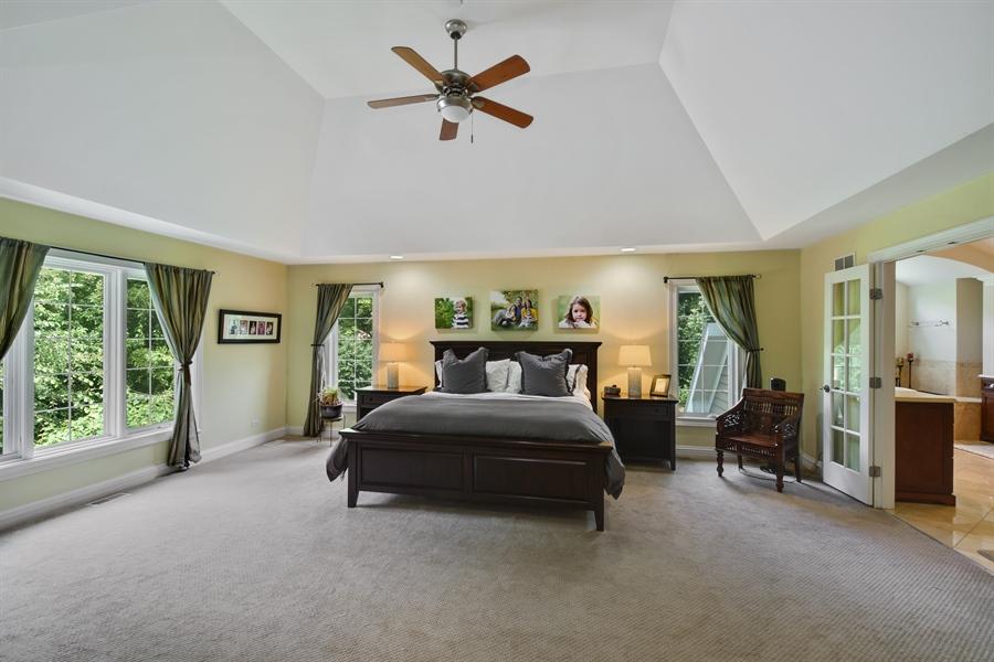 Real Estate Photography - 50 Whitetail Lane, Barrington, IL, 60010 - Master Bedroom