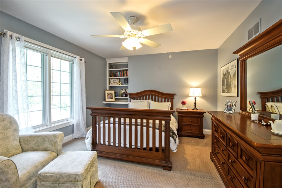 Real Estate Photography - 50 Whitetail Lane, Barrington, IL, 60010 - 3rd Bedroom
