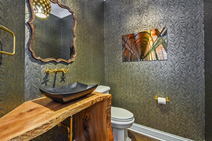Real Estate Photography - 50 Whitetail Lane, Barrington, IL, 60010 - Powder Room