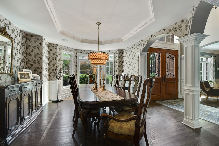 Real Estate Photography - 50 Whitetail Lane, Barrington, IL, 60010 - Dining Room