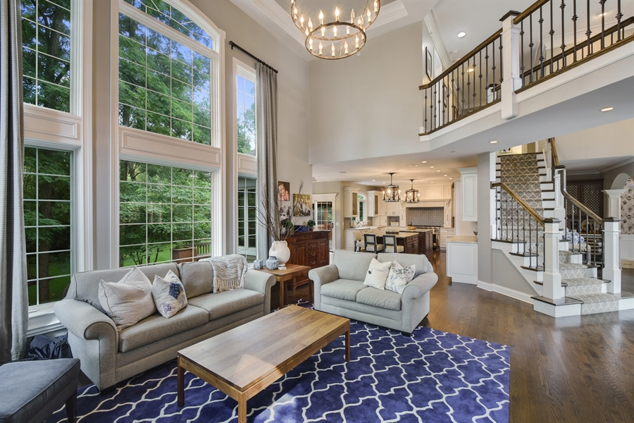 Real Estate Photography - 50 Whitetail Lane, Barrington, IL, 60010 - Family Room