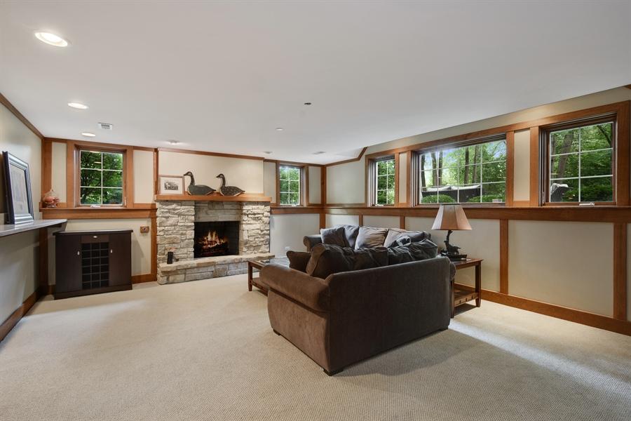 Real Estate Photography - 50 Whitetail Lane, Barrington, IL, 60010 - Rec Room