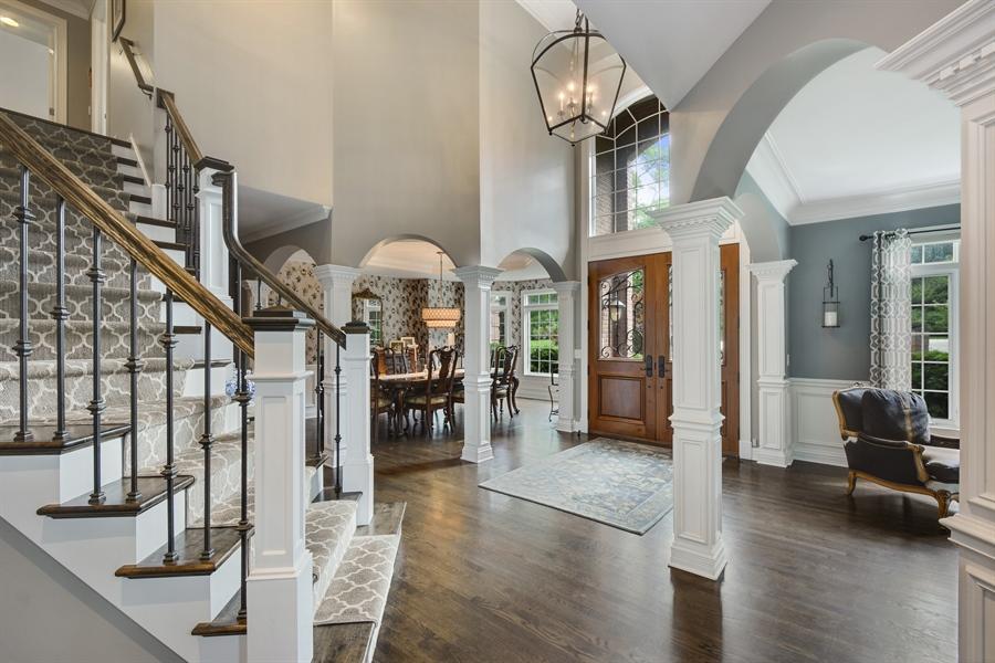 Real Estate Photography - 50 Whitetail Lane, Barrington, IL, 60010 - Foyer