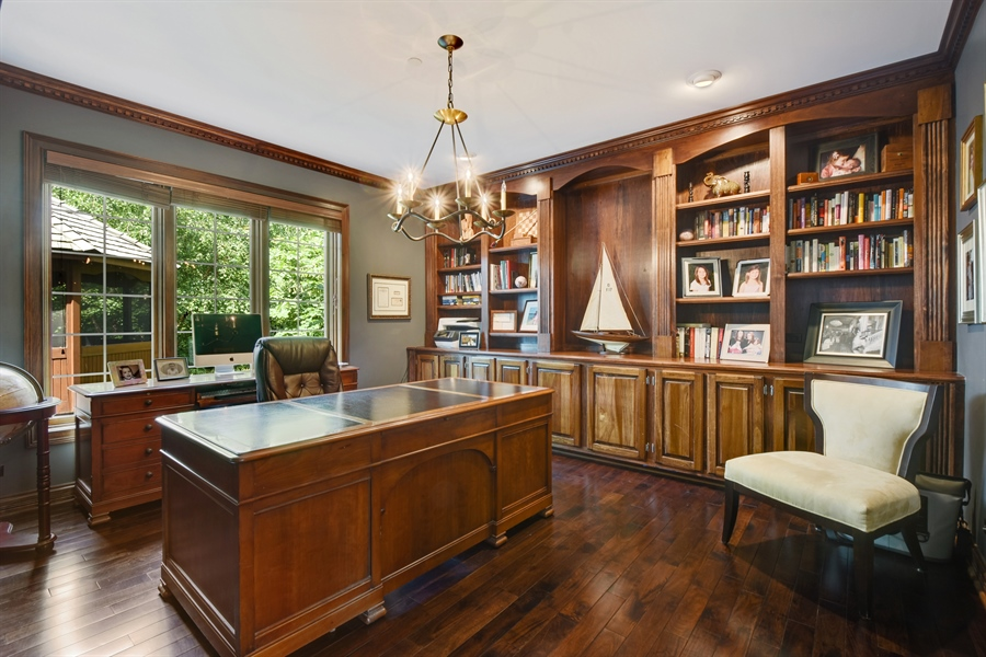 Real Estate Photography - 50 Whitetail Lane, Barrington, IL, 60010 - Study