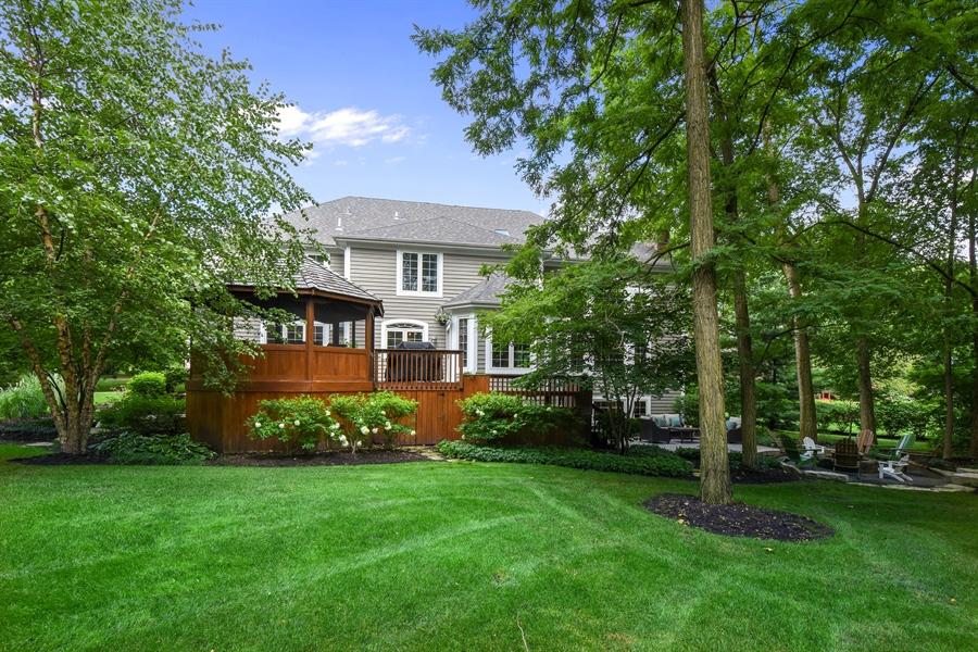 Real Estate Photography - 50 Whitetail Lane, Barrington, IL, 60010 - Rear View