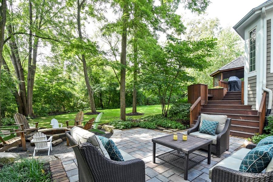 Real Estate Photography - 50 Whitetail Lane, Barrington, IL, 60010 - Patio