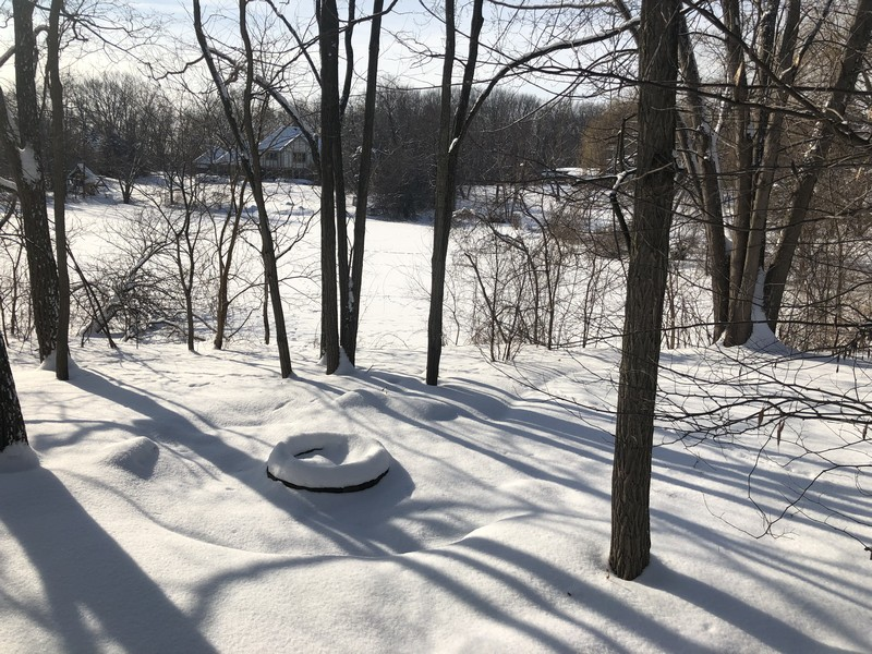 Real Estate Photography - 50 Whitetail Lane, Barrington, IL, 60010 - Pond View from Deck
