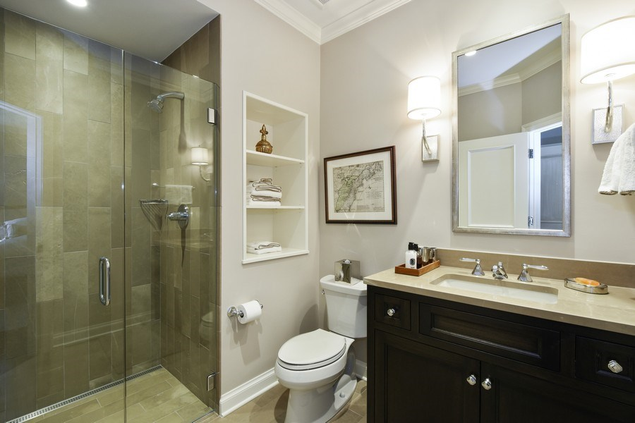 Real Estate Photography - 87 Hawley Woods Rd, Barrington Hills, IL, 60010 - 3rd Bathroom