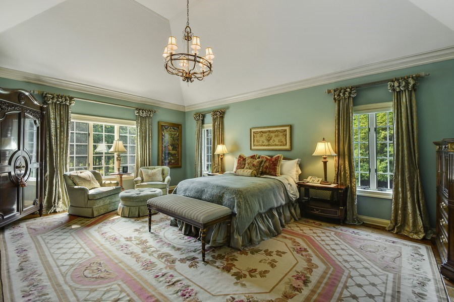 Real Estate Photography - 87 Hawley Woods Rd, Barrington Hills, IL, 60010 - Master Bedroom
