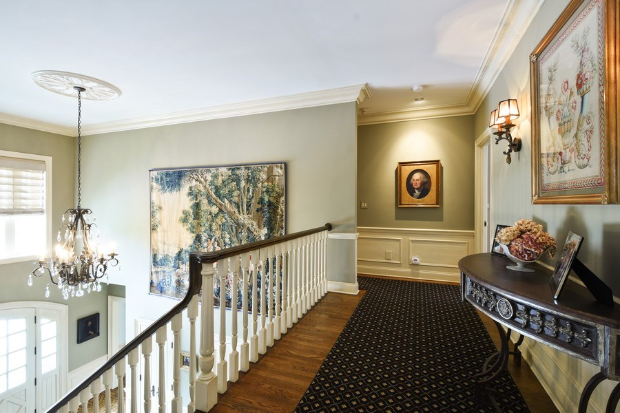 Real Estate Photography - 87 Hawley Woods Rd, Barrington Hills, IL, 60010 - Upper Galley Hall