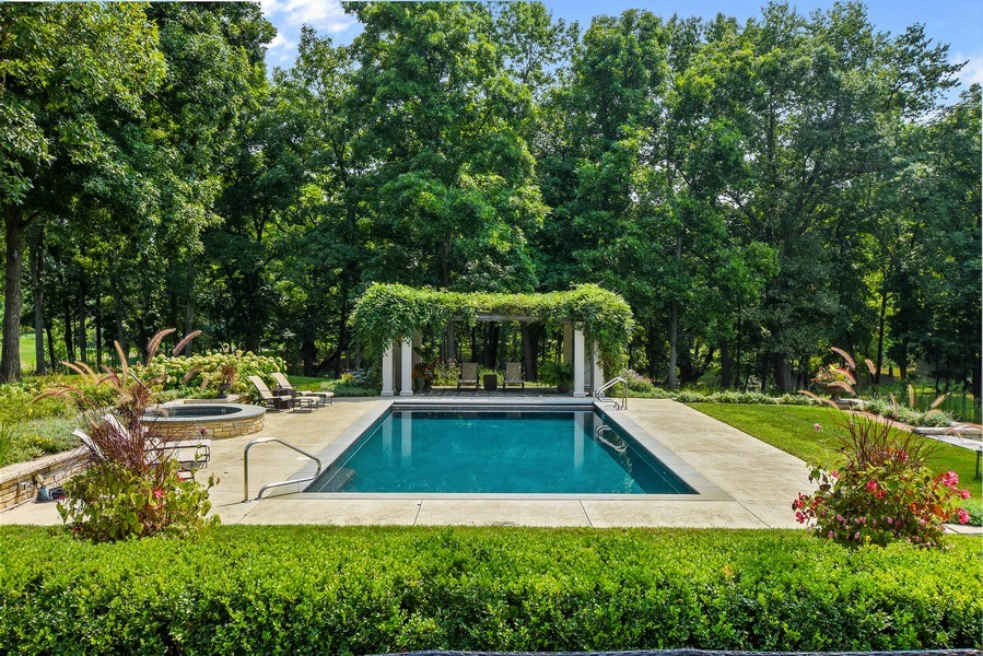 Real Estate Photography - 87 Hawley Woods Rd, Barrington Hills, IL, 60010 - Pool