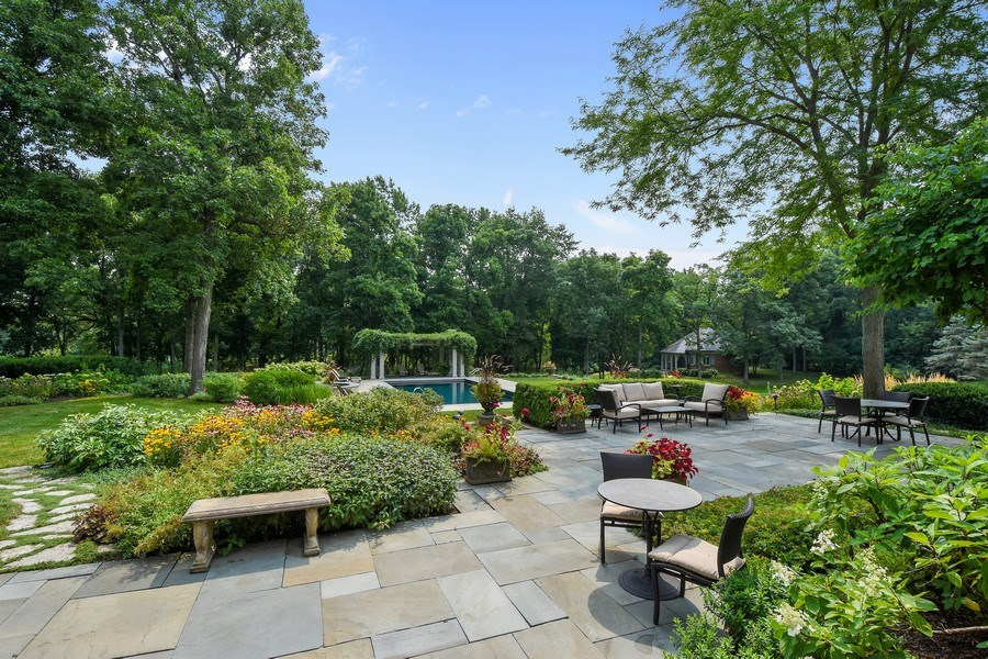 Real Estate Photography - 87 Hawley Woods Rd, Barrington Hills, IL, 60010 - Patio
