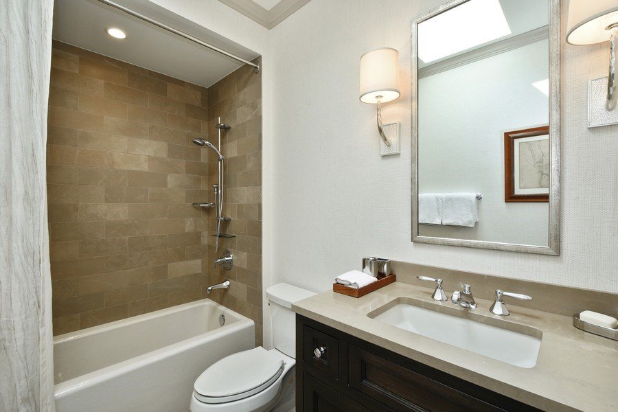 Real Estate Photography - 87 Hawley Woods Rd, Barrington Hills, IL, 60010 - 2nd Bathroom