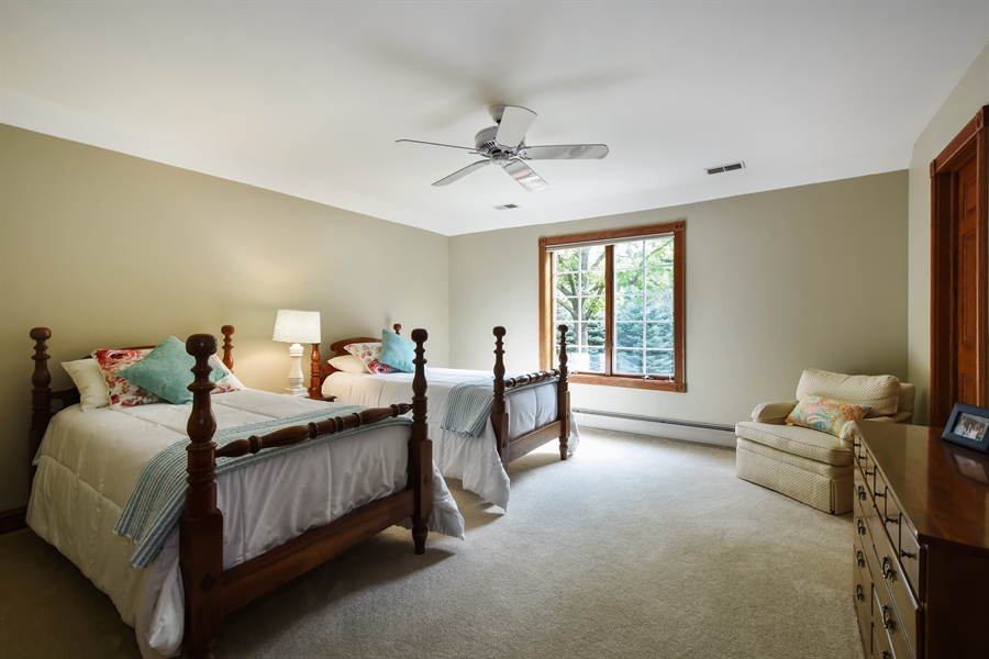 Real Estate Photography - 120 Dunrovin Dr, Barrington Hills, IL, 60010 - 4th Bedroom