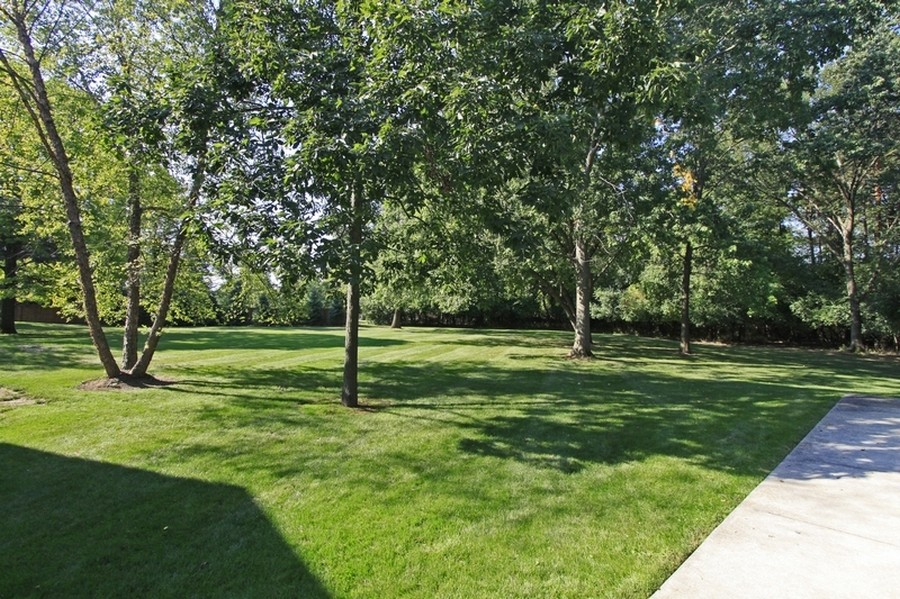 Real Estate Photography - 120 Dunrovin Dr, Barrington Hills, IL, 60010 - Yard