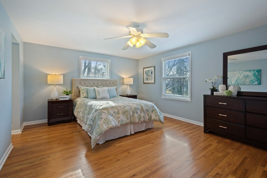 Real Estate Photography - 819 Meadow Lane, Barrington, IL, 60010 - Master Bedroom