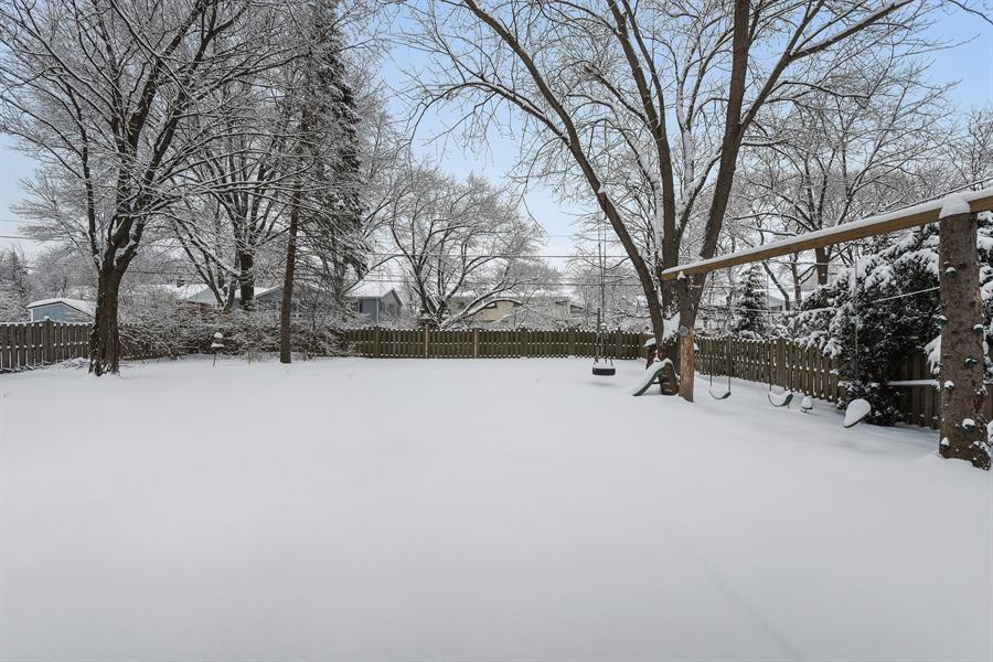 Real Estate Photography - 819 Meadow Lane, Barrington, IL, 60010 - Back Yard