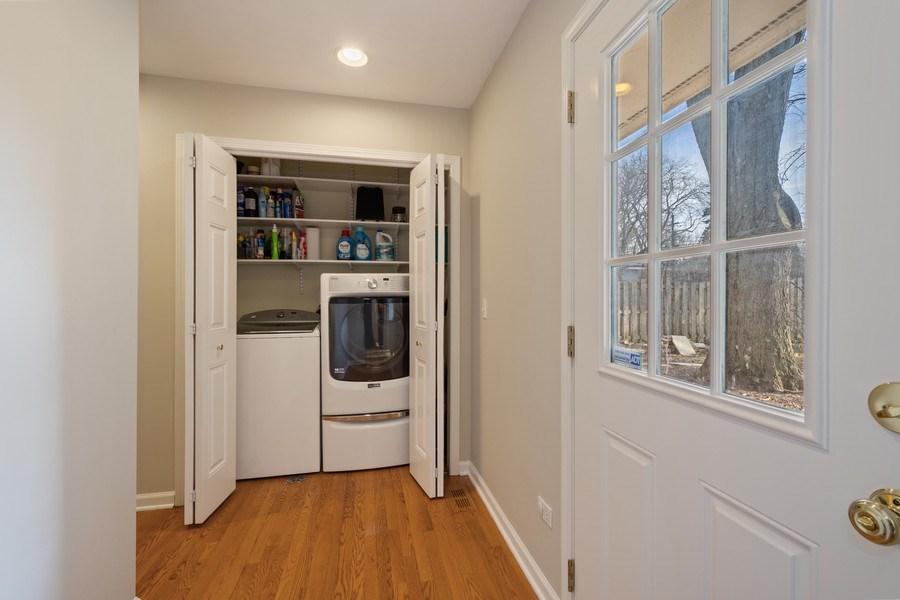 Real Estate Photography - 819 Meadow Lane, Barrington, IL, 60010 - Laundry
