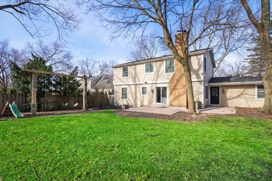 Real Estate Photography - 819 Meadow Lane, Barrington, IL, 60010 - Rear View