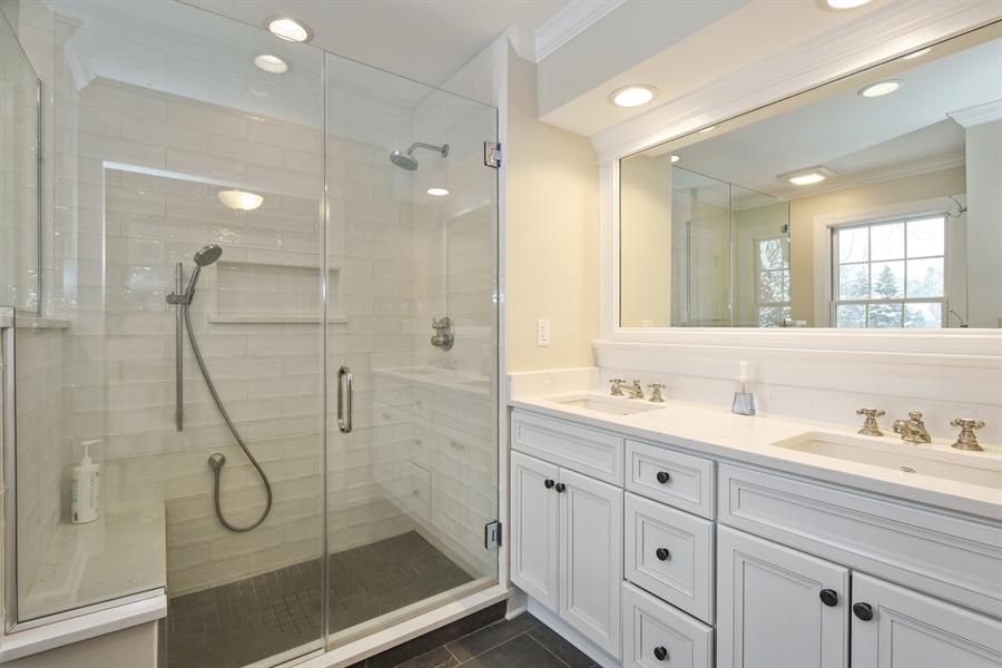 Real Estate Photography - 510 Shady Lane, Barrington, IL, 60010 - Master Bathroom