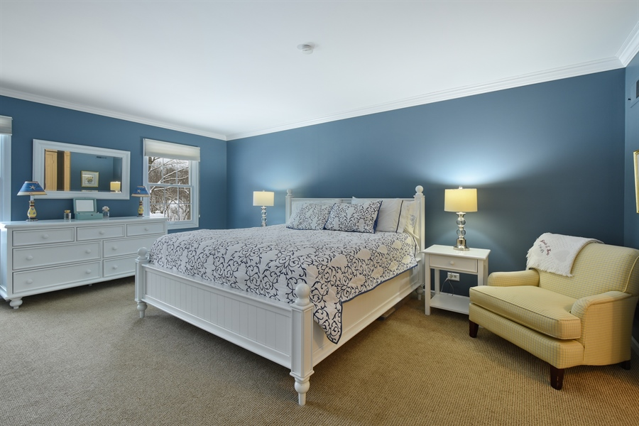 Real Estate Photography - 510 Shady Lane, Barrington, IL, 60010 - Master Bedroom