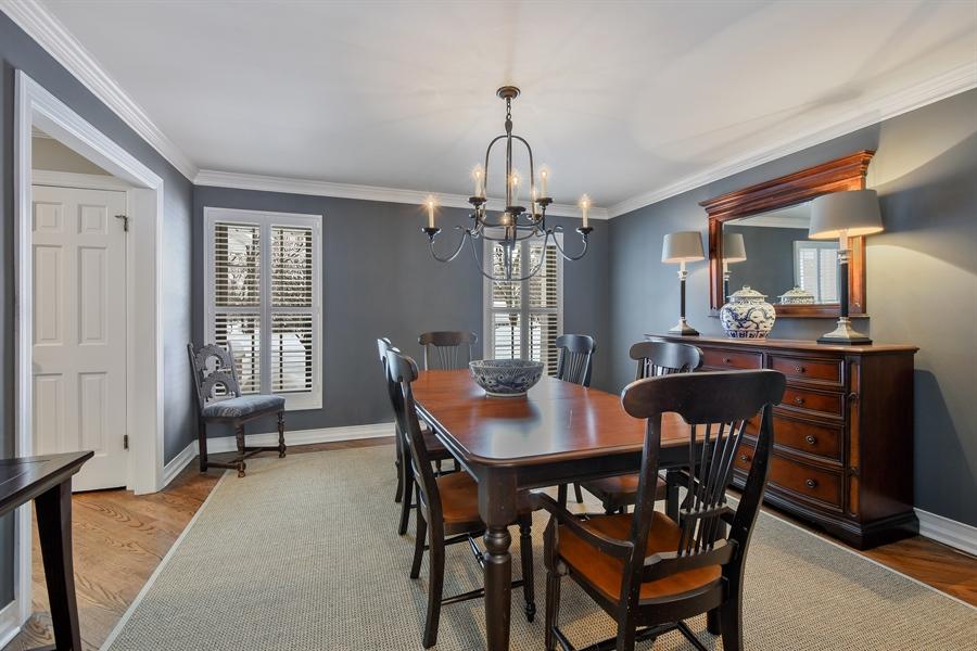 Real Estate Photography - 510 Shady Lane, Barrington, IL, 60010 - Dining Room