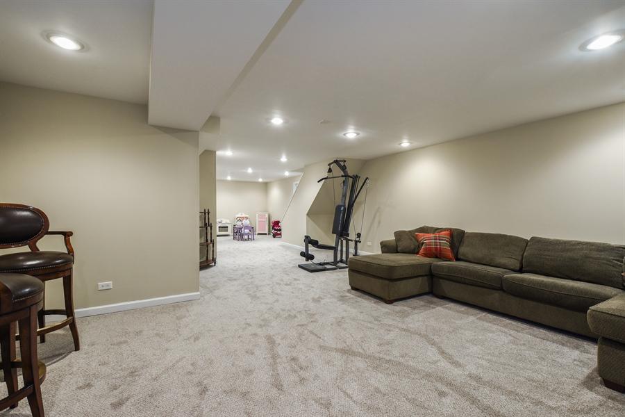 Real Estate Photography - 510 Shady Lane, Barrington, IL, 60010 - Rec Room