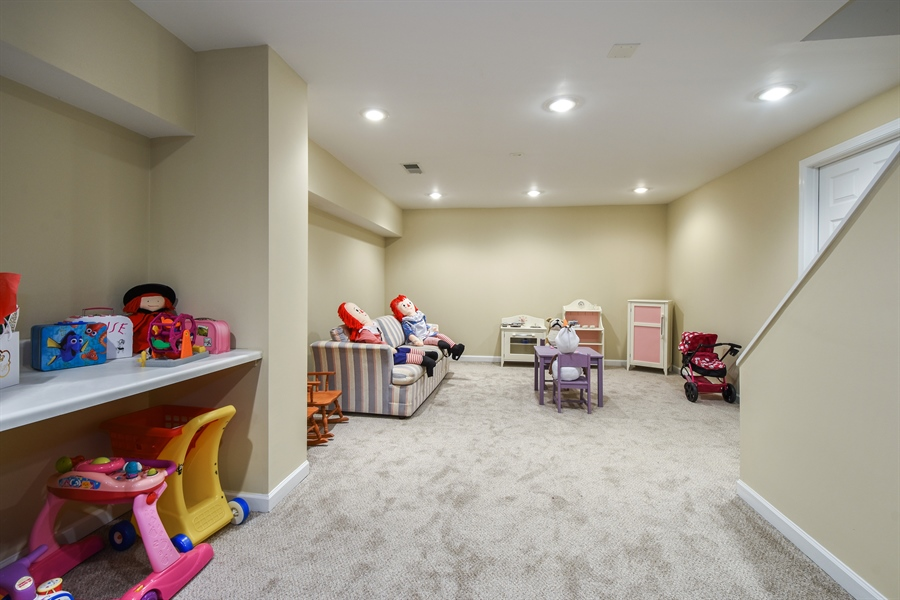 Real Estate Photography - 510 Shady Lane, Barrington, IL, 60010 - Play Room