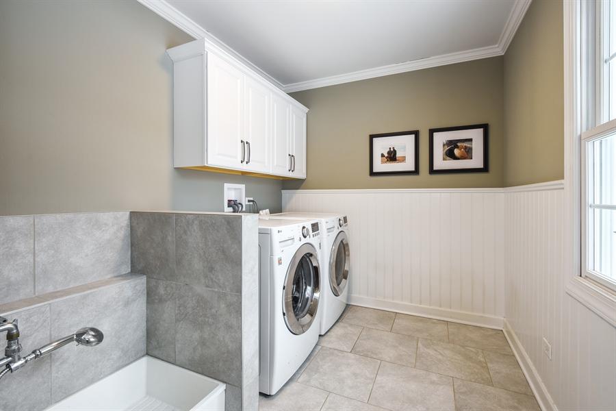 Real Estate Photography - 510 Shady Lane, Barrington, IL, 60010 - Laundry Room