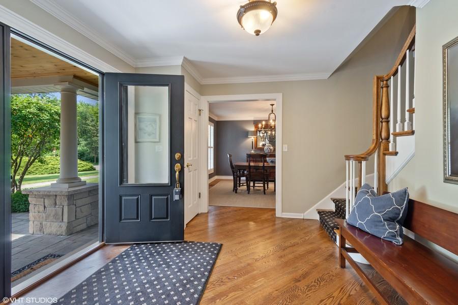 Real Estate Photography - 510 Shady Lane, Barrington, IL, 60010 - Entrance