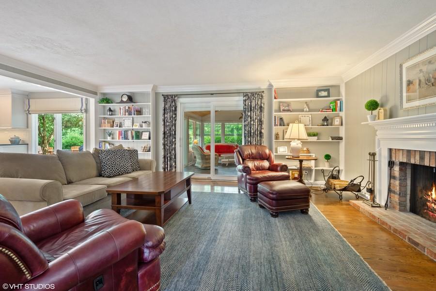 Real Estate Photography - 510 Shady Lane, Barrington, IL, 60010 - Family Room